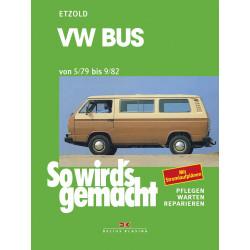 VW Bus T3 1,6 / 2,0 Liter (79-82)  Reparaturanleitung So wirds gemacht