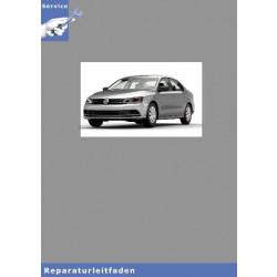 VW Jetta (15) 4 Zyl Einspritzmotor (1,4 L Motor Turbolader) - Reparaturanleitung