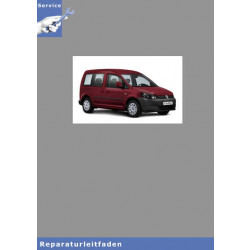 VW Caddy (16>) 3-Zyl Direkteinspritzer-Reparaturanleitung