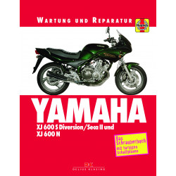 Yamaha XJ 600 S Diversion / SECA II / XJ 600 N (92-99) - Reparaturanleitung