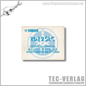 Xamaha LB 50 II AP / LB 80 II A (75>) - Wartungsanleitung