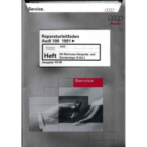 Audi 100  (>91) KE-Motronic Einspritz- & Zündanlage 4-Zyl. - Reparaturleitfaden