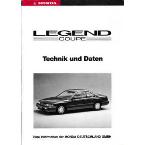 Honda Legend Coupe (95>) - Technik und Daten