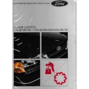Ford Handbuch für Lackierung und Korrosionsschutz