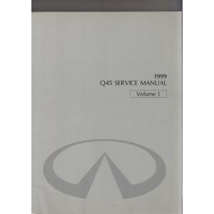 Infiniti Q45 (96-01) Werkstatthandbuch von 1999 Volume 1