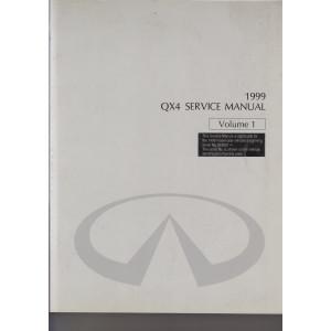 Infiniti QX4 (96-02) Werkstatthandbuch von 1999 Volume 1