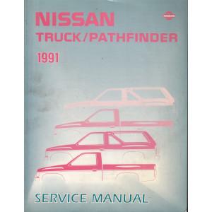 Nissan Pathfinder (86-95) Werkstatthandbuch von 1991