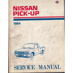 Nissan Pick-up (80-86) Werkstatthandbuch von 1984