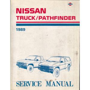 Nissan Truck/Pathfinder (86-95) Werkstatthandbuch von 1989