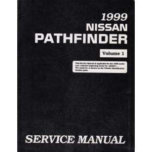 Nissan Pathfinder (95-04) Werkstatthandbuch von 1999 Volume 1