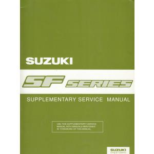Suzuki Swift SF Series (95-03) - Supplementary Service Manual 1996