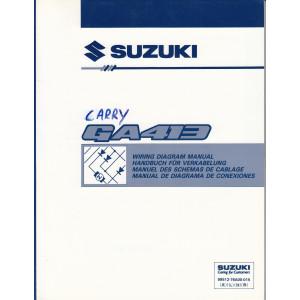 Suzuki Swift (88-03) - Schaltplan zum Werkstatthandbuch