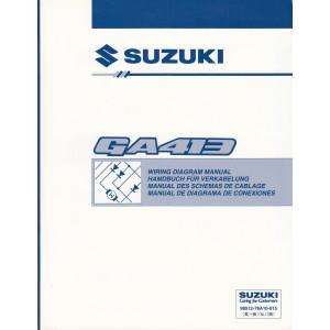 Suzuki Carry - Schaltplan zum Werkstatthandbuch