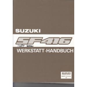 Suzuki Swift Sedan (91) - Werkstatthandbuch