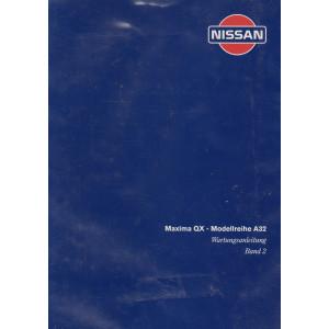Nissan Maxima  A32 (95-00) - Werkstatthandbuch mit 3 Bänden