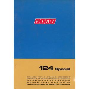 Fiat 124 Special (1970)  - Ersatzteilkatalog Karosserie