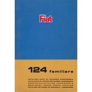 Fiat 124 familiare (1967)  - Ersatzteilkatalog Karosserie