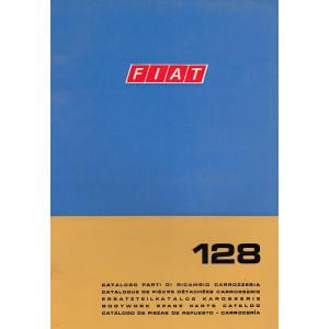 Fiat 128 (1969)  - Ersatzteilkatalog Karosserie Version 2a