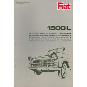 Fiat 1500L (1965)  - Ersatzteilkatalog Karosserie