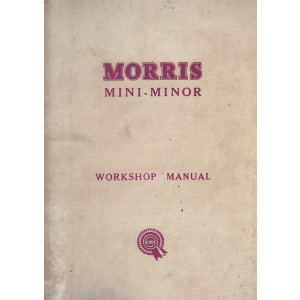 Morris Mini-Minor (1974)  - Workshop Manual Werkstatthandbuch