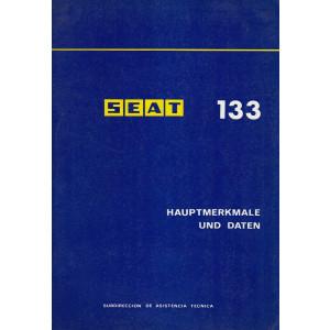 Seat 133 (1975) - Hauptmerkmale und Daten