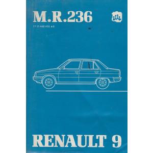 Renault 9 / R9 (1981) Mechanik - Werkstatthandbuch mit Service-Informationen