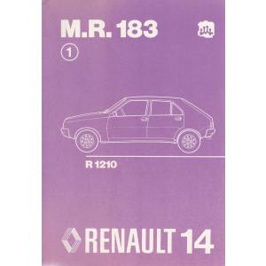 Renault 14 / R14 - R1210 (1976) - Werkstatthandbuch