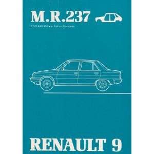 Renault 9 / R9 (1981) Karosserie - Werkstatthandbuch