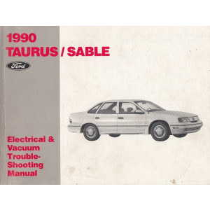 Ford Taurus / Sable (1990)-Electrical & Vacuum Manual Schältplane Handbuch (Eng)