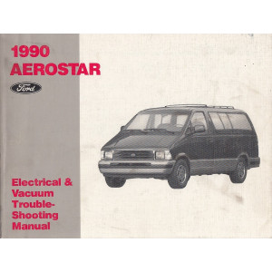 Ford Aerostar (1990) - Electrical & Vacuum Manual Schältplane Handbuch (Eng)
