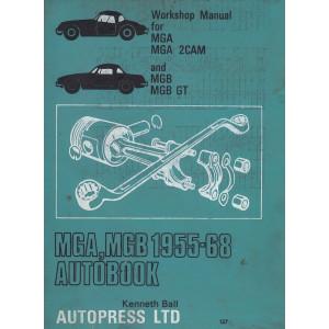 MGA 2CAM / Mark 2 / 1600 MGB GT (55-68) - Werkstatthandbuch Shop Manual