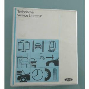 Ford Fiesta (2000) 1/2 - Werkstatthandbuch