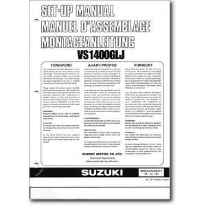 Suzuki  VS1400GL (86-03) - Montageanleitung