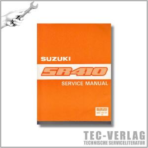 Suzuki Wagon SR410 (97-00) - Service Manual