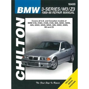 BMW 3er E36 (89-98) incl. M3 / Z3 - Repair Manual / Reparaturanleitung Chilton