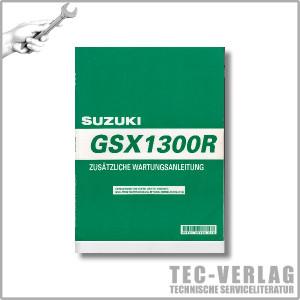 Suzuki GSX1300 R (2002er-Modell) - Zusätzliche Wartungsanleitung