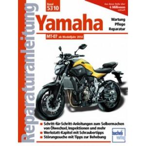 Yamaha MT 07 - (ab 14) - Reparaturanleitung