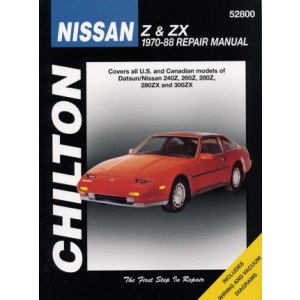Nissan Z and ZX (70 - 88) - Repair Manual Chilton