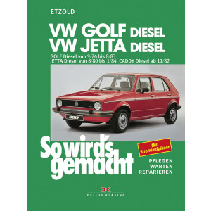 VW Golf , Jetta, Caddy (76-84) - Reparaturanleitung