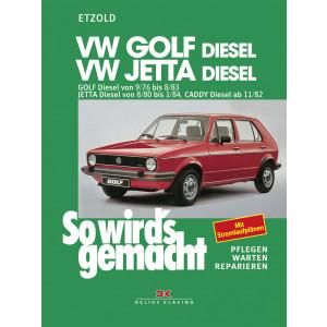 VW Golf , Jetta, Caddy (76-84) - Reparaturanleitung