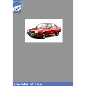 VW Jetta II, Typ 16 (84-92) Karosserie Montagearbeiten - Reparaturanleitung