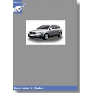 Audi A4 8E (01-08) 6 Gang-Schaltgetriebe 01X Frontantrieb - Reparaturleitfaden