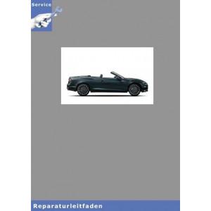 Audi A5 Cabriolet Karosserie Montagearbeiten Innen - Reparaturleitfaden