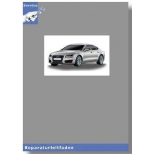 Audi A6 4G (11>) 8 Gang-Automatikgetriebe 0BW Hybrid - Reparaturleitfaden