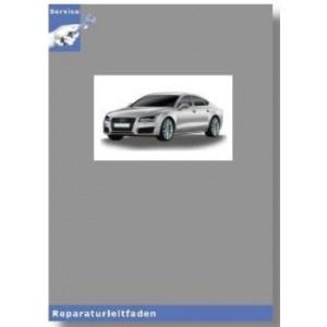 Audi A6 4G (11>) 6 Gang-Schaltgetriebe 0B1 Frontantrieb - Reparaturleitfaden