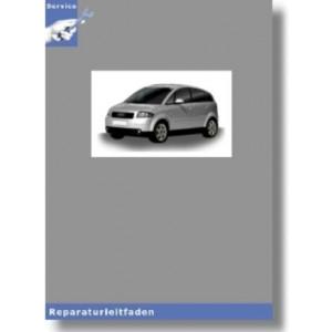 Audi A2 8Z (00-05) - 5 Gang-Schaltgetriebe 02J - Reparaturleitfaden