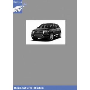 Audi Q5 Karosserie Montagearbeiten Innen - Reparaturanleitung