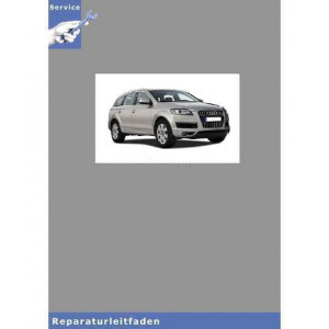 Audi Q7 4L (05>) Automatisches Getriebe 09D Allradantrieb - Reparaturleitfaden