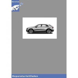 Audi Q8 Karosserie Montagearbeiten Außen - Reparaturanleitung