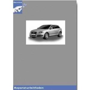 Audi A3 8P (04/07)  Achsantrieb hinten 02D, 0AV, 0BR,0BY  - Reparaturleitfaden